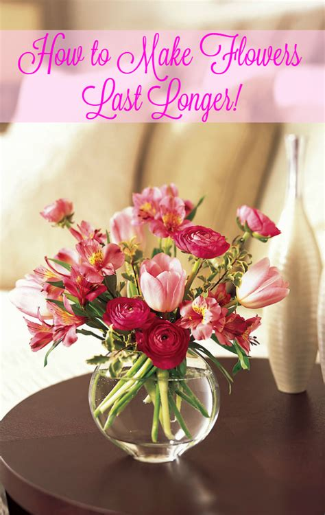 How To Make Flowers Last In A Vase terrific tip tuesday how to make flowers last longer in a vase serendipity and spice