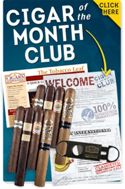 Gift Card Of The Month Club - gift shop cigars international