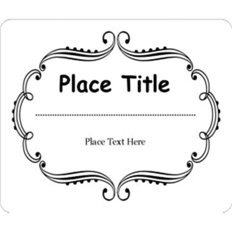 avery business card templates with borders templates martha stewart whimsical wedding border