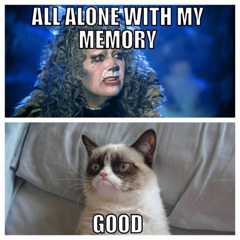 Musical Memes - cats the musical grumpy cat meme theater clubs
