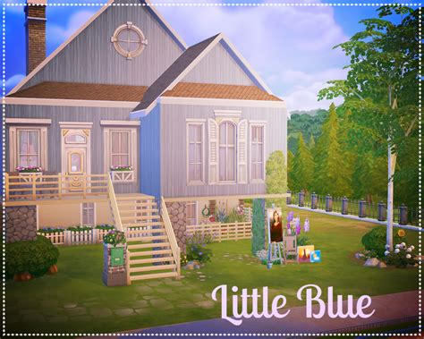 little blue house little blue house by emma