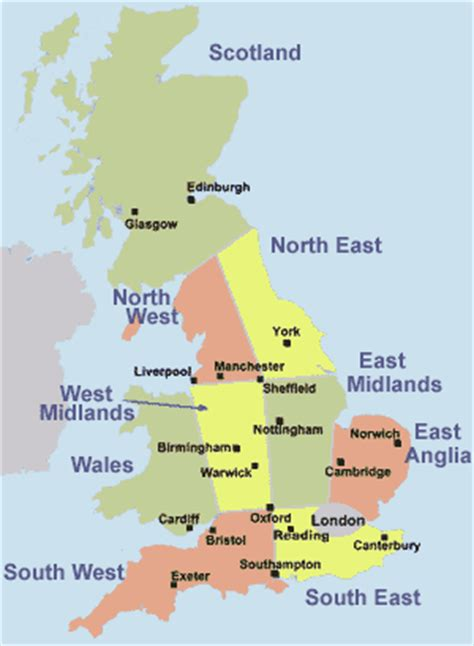map of major cities in uk college arts college bournemouth