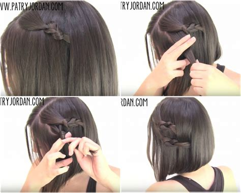 easy hairstyles for very short hair step by step easy hairstyles for short hair step by step hairstyles