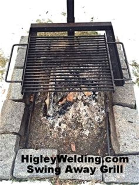 pit swing out grill higley firepits on 36 pins