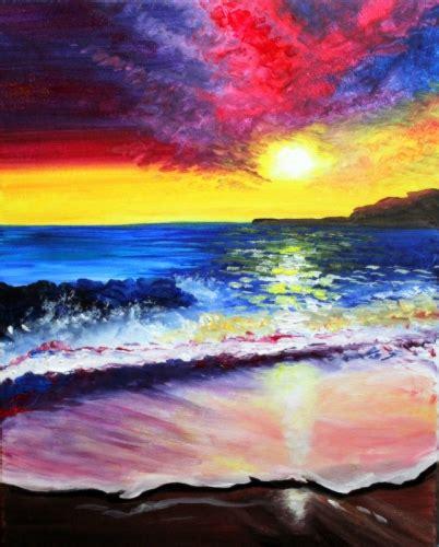 paint nite kent wa learn to paint breaks