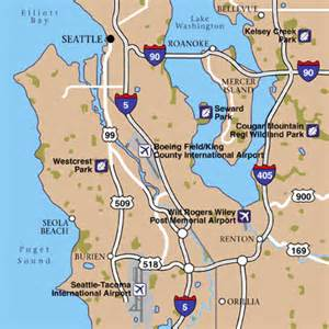 Seattle Tacoma Map by Seattle Tacoma International Airport Airport Maps Maps