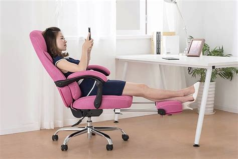 computer lounge chair office boss chair with footrest computer lounge stool