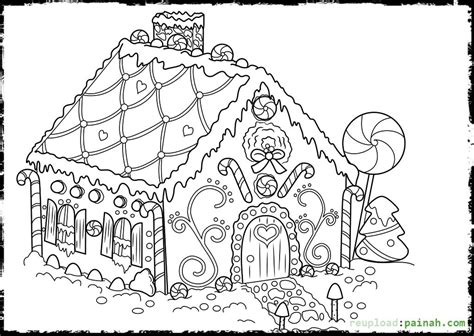 gingerbread house coloring page gingerbread house coloring pages to download and print for free