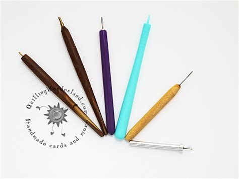 Tools For Paper - paper quilling basic tools