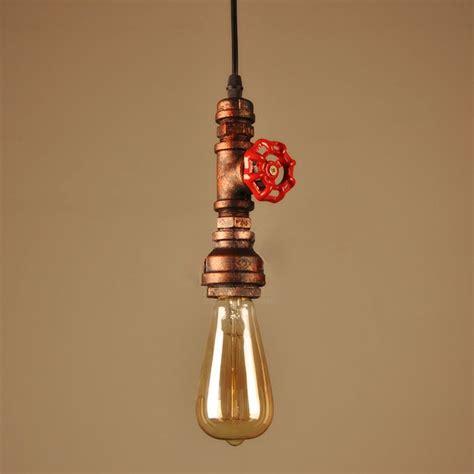 Vintage Industrial Diy Bar Pendant by Vintage Water Pipe Pendant Lights Industrial Bulb Pendant