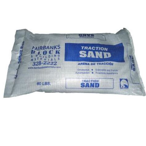 60 lb traction sand 132760 the home depot