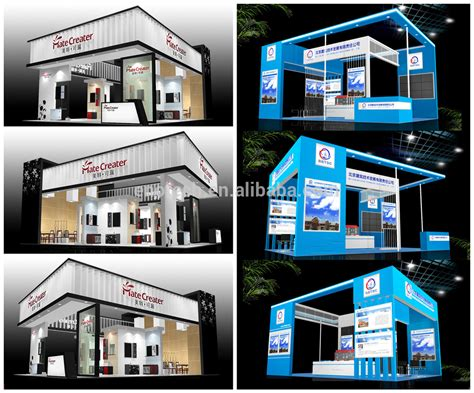 booth design unit new portable trade show exhibition booth design exhibition
