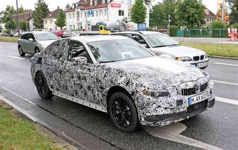 spied 2018 bmw 3 series begins real world testing auto