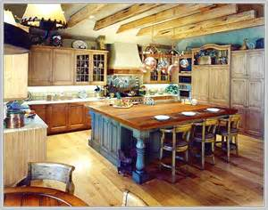 Rustic Kitchen Design Ideas kitchen island with seating butcher block home design ideas