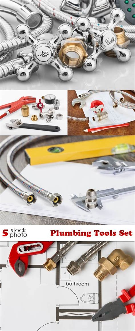 Plumbing Set by Graphics Photos Plumbing Tools Set Scripts Nulled