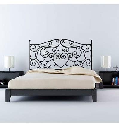 cama vintage vinilo decorativo cabecero de cama vintage