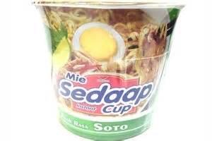 Sedaap Mie Soto Cup 77g mie sedaap mie kuah rasa soto soto flavor