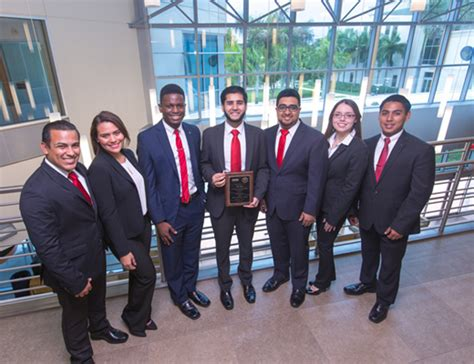 Florida International Mba Rankking by Gold Again Fiu S Beta Alpha Psi Named One Of The
