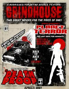 Grindhouse Poster Template by Xploiting Cinema Reviews Grindhouse Dvd Trend