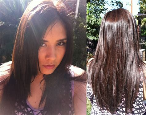 olia hair color reviews barefaced brush up garnier olia hair color review