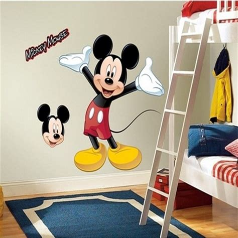 mickey mouse bedroom stickers 32 best mickey mouse wall decorations images on pinterest