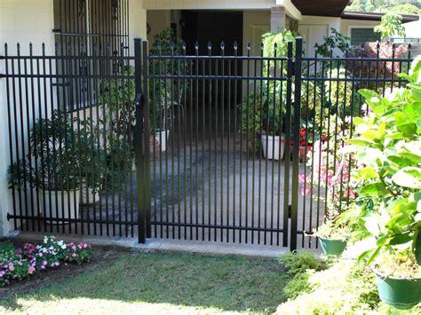pedestrian swing gate hawaii fence project gallery oahu hawaii allied