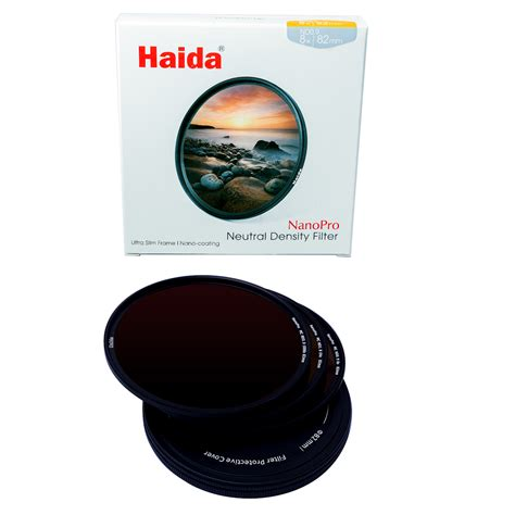 Haida Filter 100 Series Nd 09 nd filterset 82mm nanopro nd0 9 nd1 8 nd3 0
