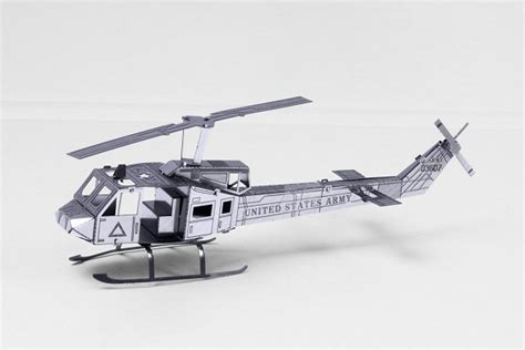 Helicopter Metal Model metal model huey helicopter 3d puzzles puzzles the
