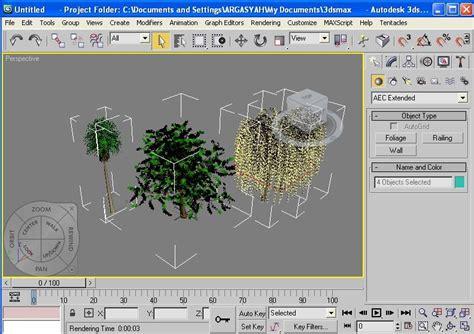 tutorial gambar pohon tutorial cara memasukan pohon 3d pada program 3ds max
