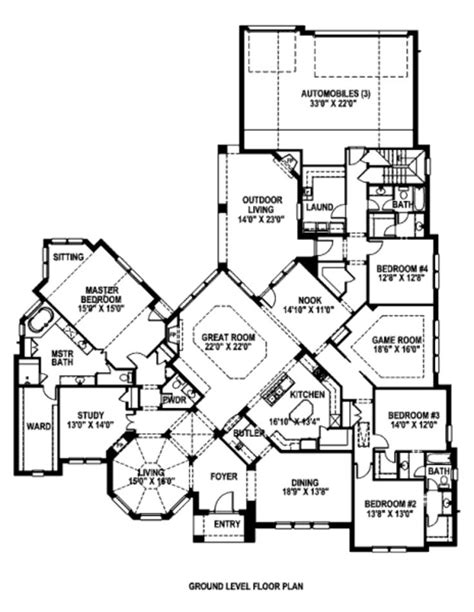 unique one story house plans unique one story house plans numberedtype