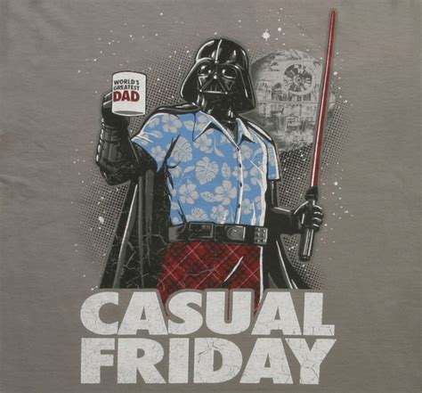 star wars office star wars casual friday t shirt darth vader meets office