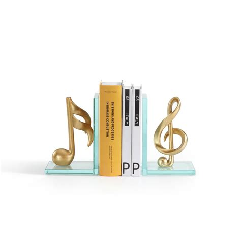Resin Bookends Gold Set Of 2 industrial rustic black bookend set of 2 80973 the home depot