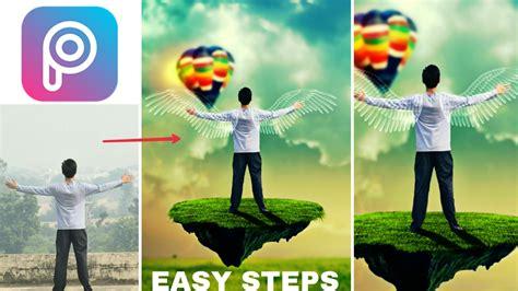 tutorial edit background picsart picsart tutorial angel shadow change background with