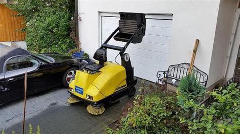 Wir Kaufen Dein Auto Unterlagen by K 228 Rcher Kmr 1250b 2sb Aufsitzkehrmaschine Benzin In