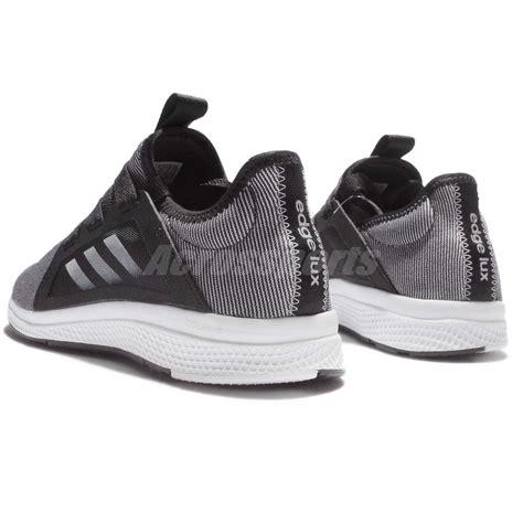 adidas edge w bounce black grey white running shoes sneakers bb8211 ebay