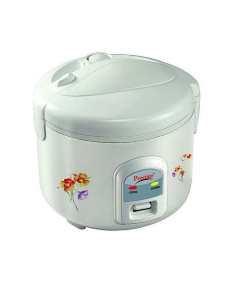 Rice Cooker Miyako 1 2 Liter prestige 1 2 l prwcs rice cooker white buy snapdeal india