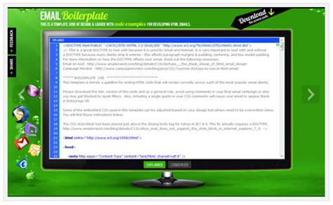 boilerplate email template email on acid inbox preview and testing tool email marketing