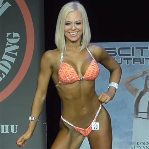 amazing bikini fitness champion virag kiss