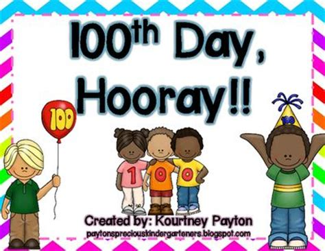 hooray for the 100th day 17 best images about 100th day of school on kindergarten 100th day and coloring sheets