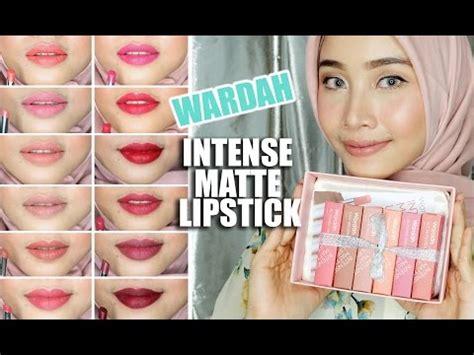 Lipstik Wardah Coklat Matte wardah matte lipstick swatches irna dewi mp3 mp4 webm