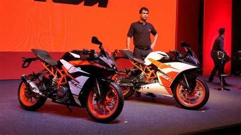ktm rc 200 price in india live ktm rc 390 rc 200 launch updates price in india