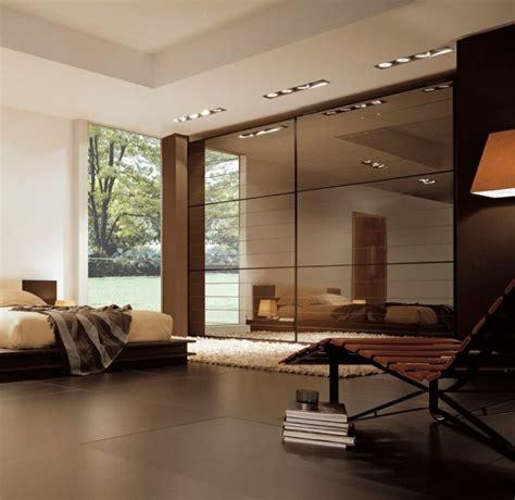 schöne schlafzimmereinrichtung wohnzimmer braun gold