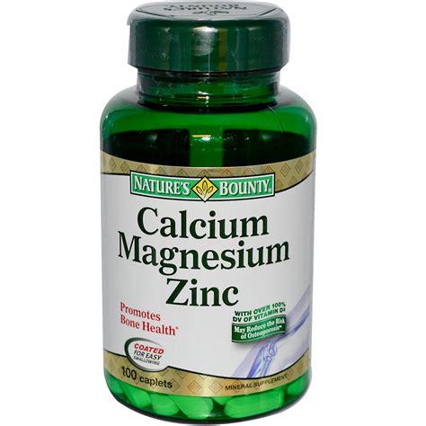 Promo Spesial Zinc Capsules nature s bounty calcium magnesium zinc 100 caplets