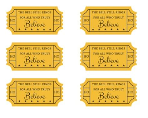 search results for polar express golden ticket free