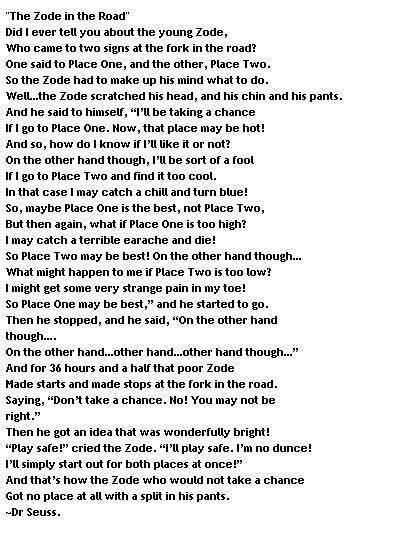 dr seuss poems about dreams - Google Search | Choral