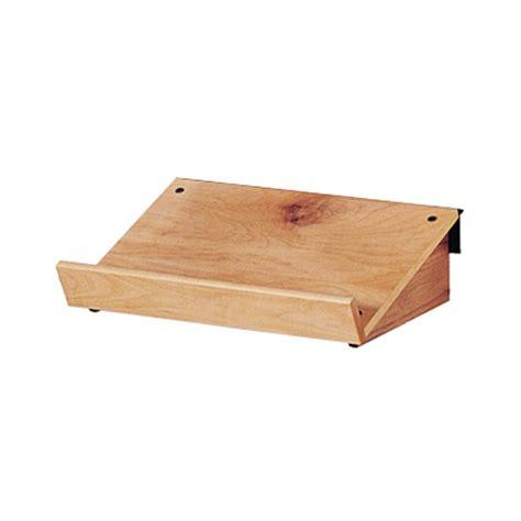 Slanted Shelf by Wooden Slanted Slatwall Shelf Trio Display