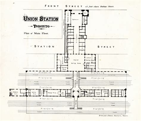 union station dc floor plan union station toronto plan of main floor digital