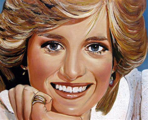 Diana Princess Of Wales Rose Princess Diana Angela Loennig Artwork Celeste Network