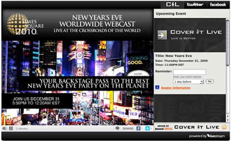 Watch Drop 2009 Watch The Ball Drop Online New Years 2010 Search Engine Journal