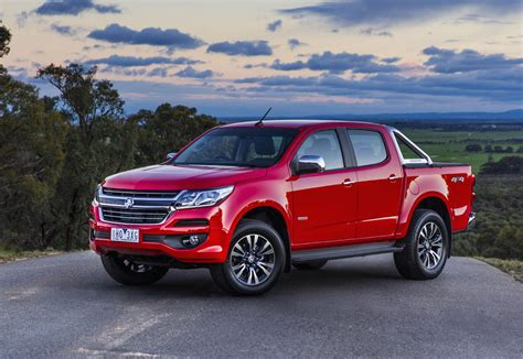 opel colorado 2017 holden colorado on sale in australia from 29 490
